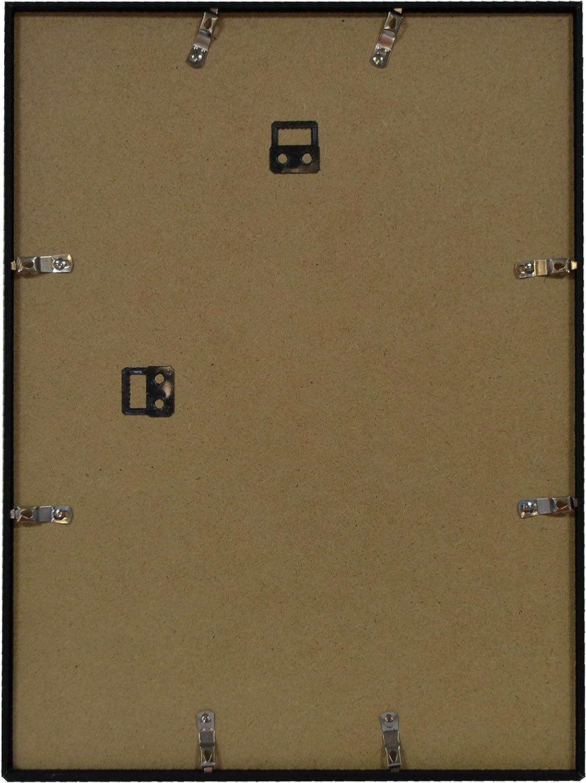 Brio 29786 Cadre Photo Tekno Aluminium Noir 50 X 70 Cm