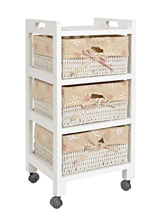 Ts Ideen Kiefer Roll Kommode Bad Flur Kuchen Regal Schrank