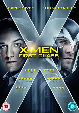 Amazon Com X Men First Class Dvd Digital Copy Movies Tv