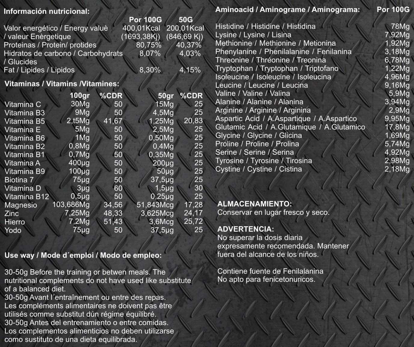 Whey Protein 100% 2kg profesional, proteina de suero, sabor chocolate: Amazon.es: Salud y cuidado personal
