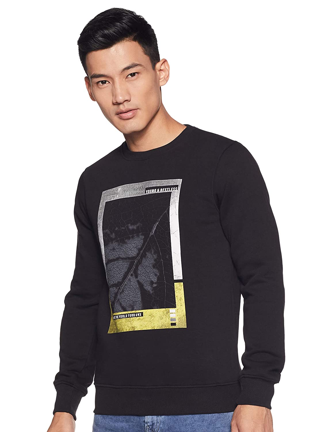 Cazibe Men Sweatshirt up to 80% off From Rs 450  @ Amazon