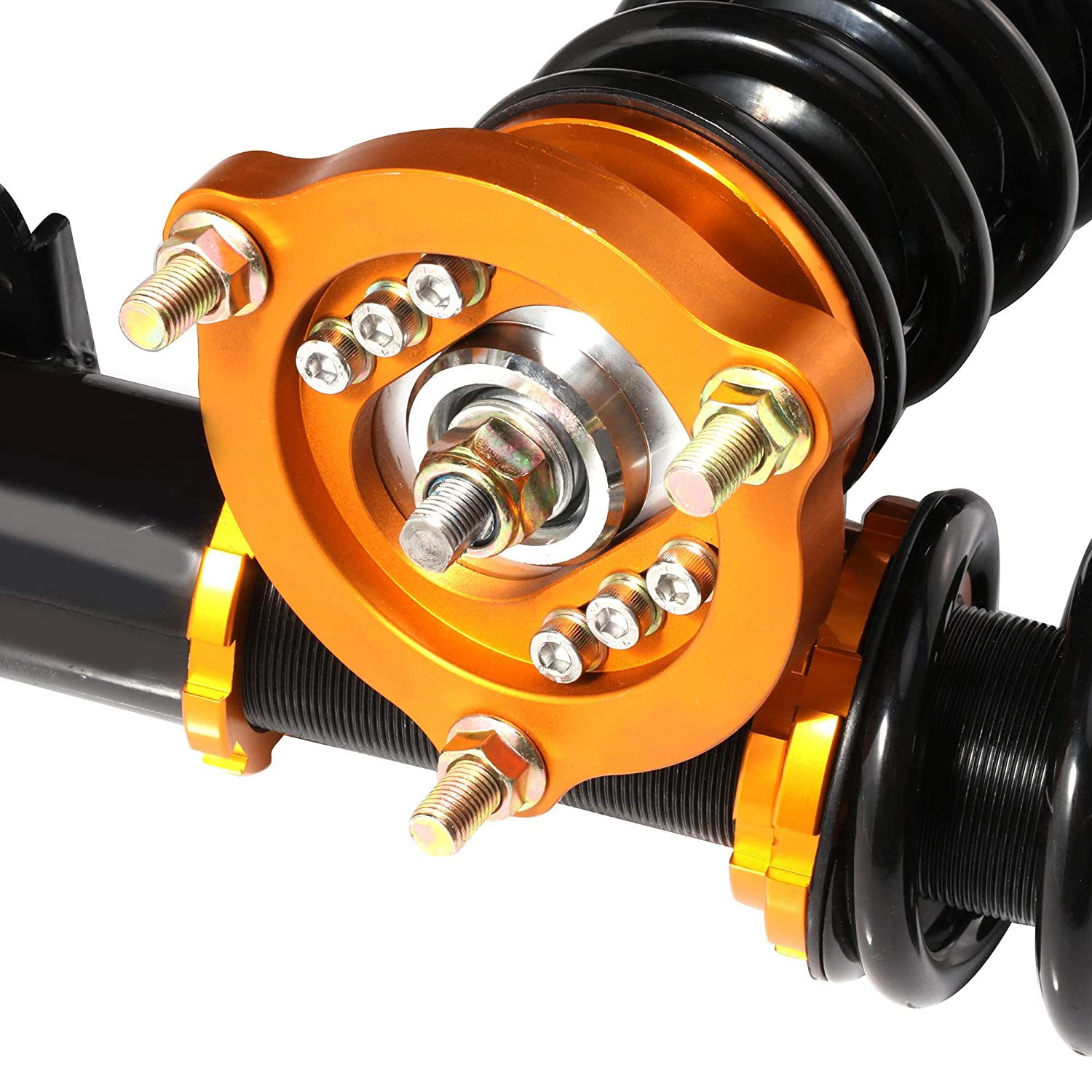 Coilover Struts Spring Shocks Assembly Adjustable Strut Shock Suspension Full Set Kits ECCPP Replacement fit for 2006-2011 Honda