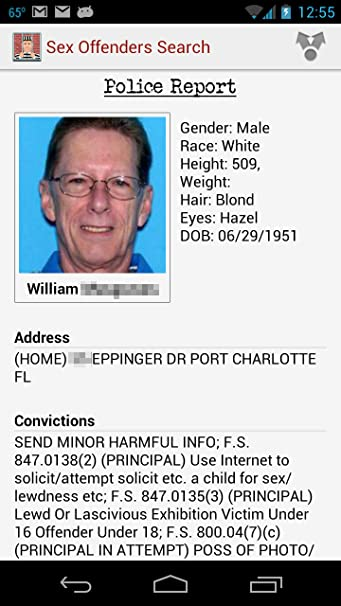 search sex offenders near my home