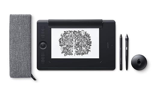 183 opinioni per Wacom Pthp-660-S Intuos Pro Paper Tavoletta Grafica con Penna Sensibile alla