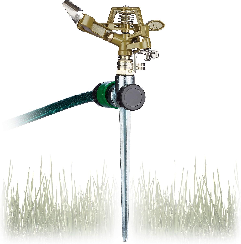 5x Rasensprenger 3//4/'/' Sprinkler Sprenger Kreisregner Impulsregner Bewässerung