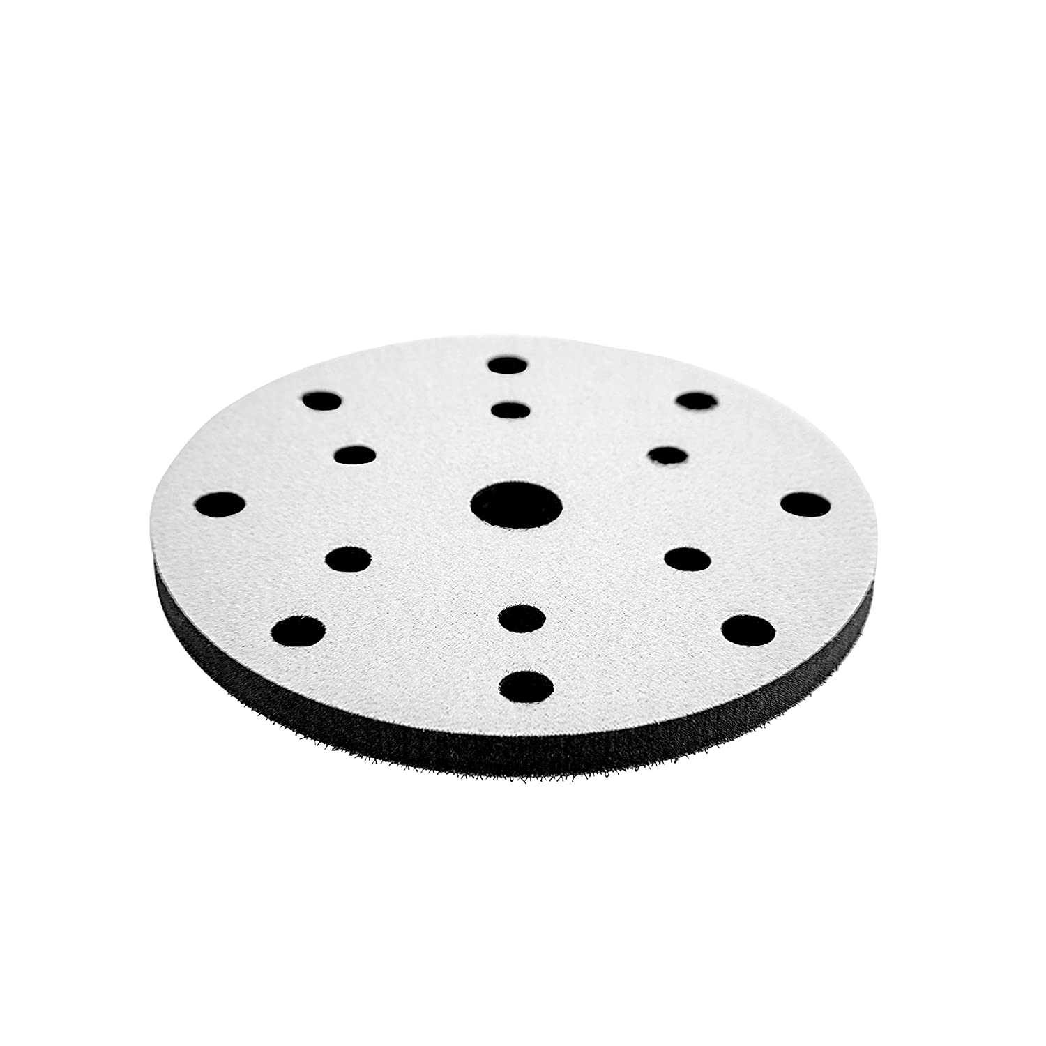 Changzhou Super Commercial/&Industry Co Ltd CHEN REFINISH Premium Quality 10mm Think Double Sided DA Polisher and Sander Interface Pad No Hole, 5 Inch