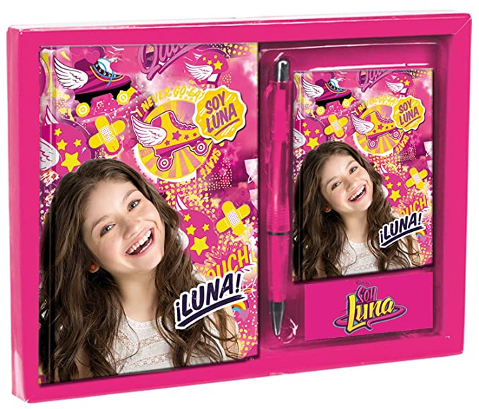 Amazon.com: Disney Soy Luna Diary Set with Address Book and Pen Unique Original Design: Toys & Games