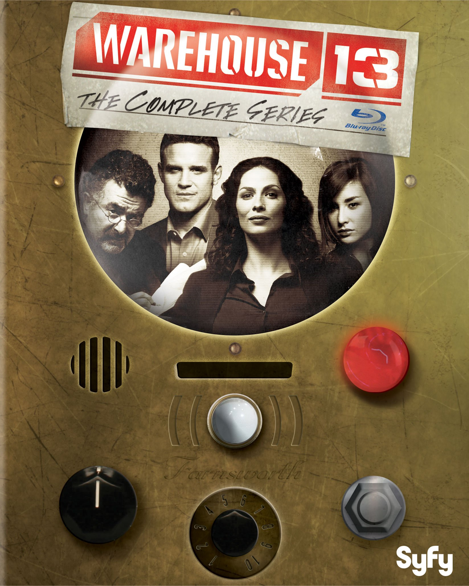 Warehouse 13: The Complete Series [Blu-ray] by UNI DIST CORP. (MCA)