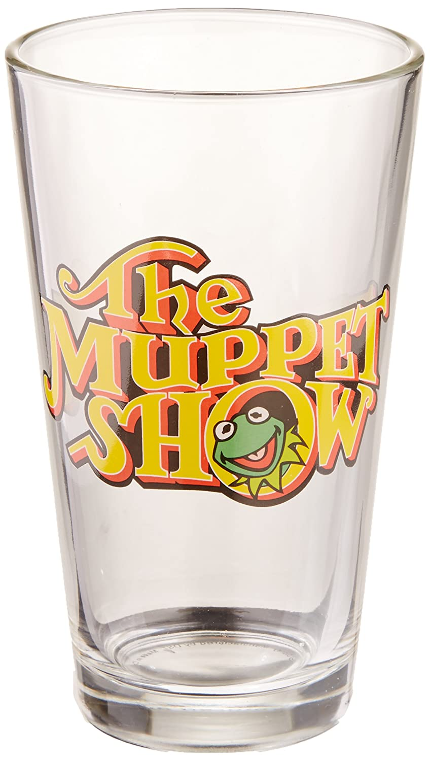 The Muppet Show Logo Pint Glass Diamond Select Toys The Muppets
