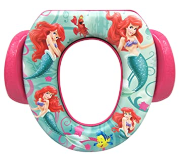Admirable Little Mermaid Ariel Soft Potty Seat With Potty Hook Amazon Machost Co Dining Chair Design Ideas Machostcouk