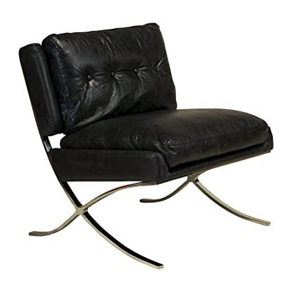 amazon com design tree home capetown occasional chair black