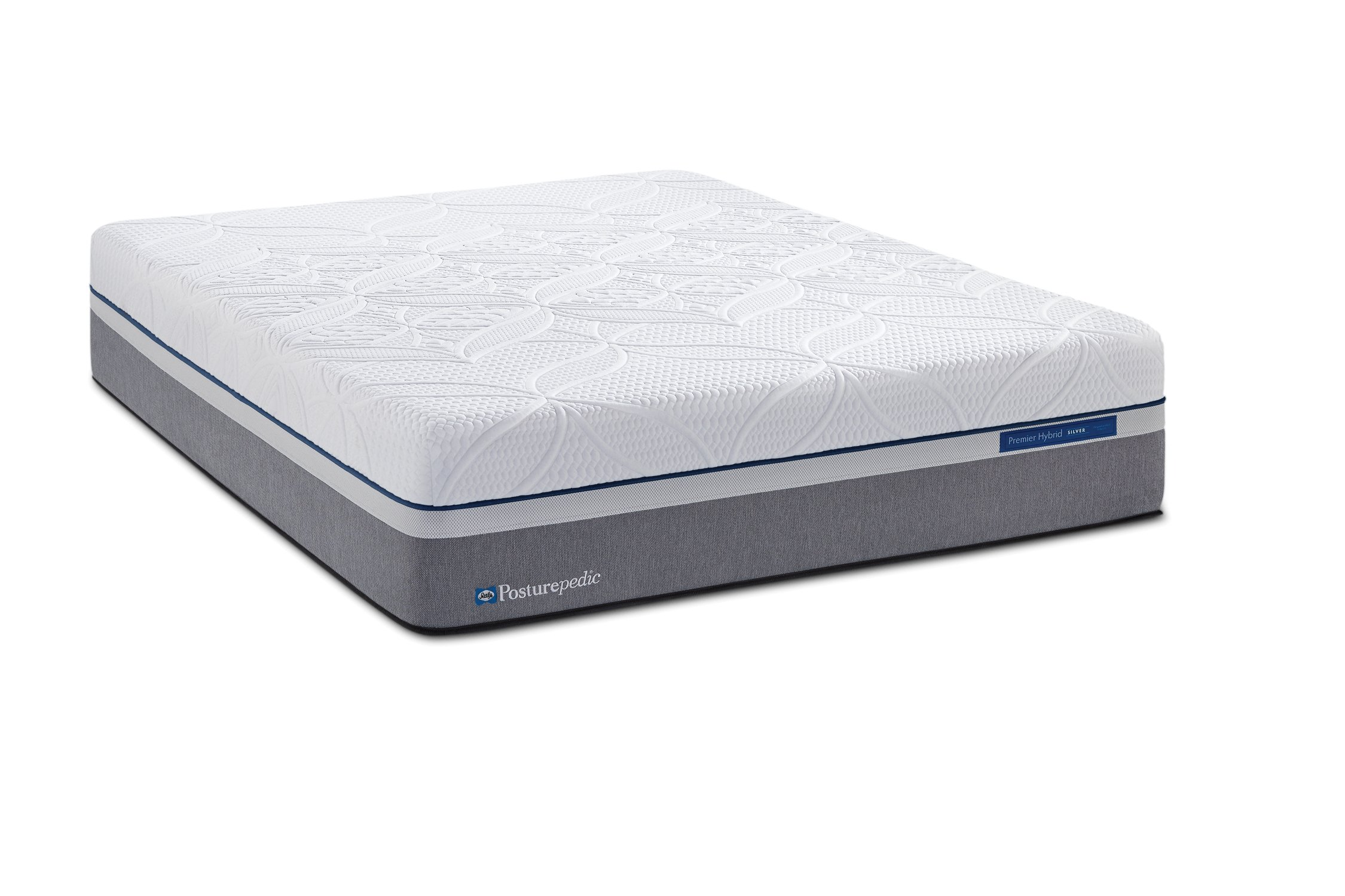 Sealy Posturepedic Hybrid Silver Plush Mattress, Twin XL