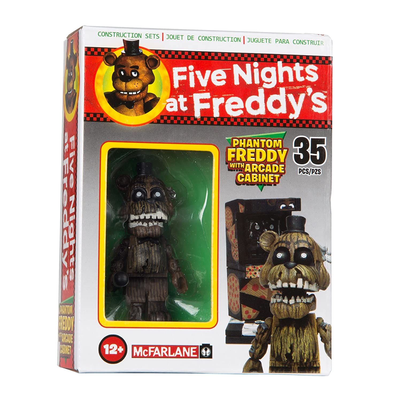 McFarlane Toys Five Nights at Freddys Micro Arcade Cabinet Construction Set