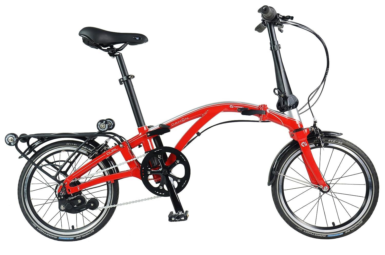 DAHON(ダホン) Curl i8 16インチ 内装8段変速 フレイミングレッド 3点折りたたみ自転車 2018年モデル 35th Anniversary model 18CURLRD00 B078FBZXL7
