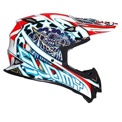 Suomy Casque Moto Cross Mr Jump Blanc Eagle White Xl