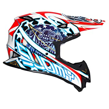 Suomy Casco Motocross MR Jump Eagle, Multicolor (Eagle White), XL