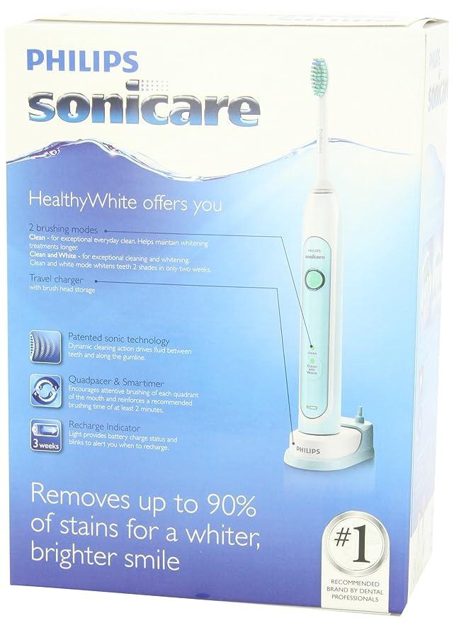 Philips Sonicare HX6711/02 HealthyWhite 710 batería para cepillo de dientes eléctrico: Amazon.es: Belleza