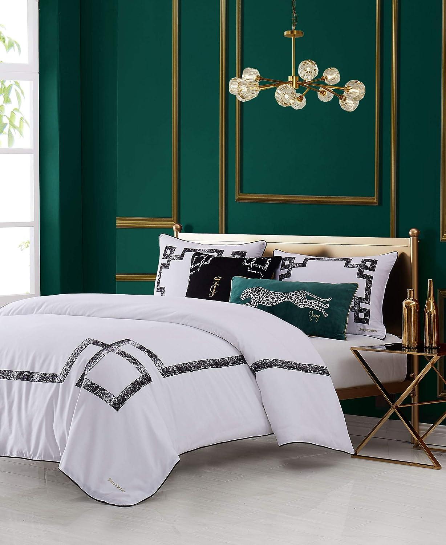 Juicy Couture Lattice3-Piece Comforter Set, Queen