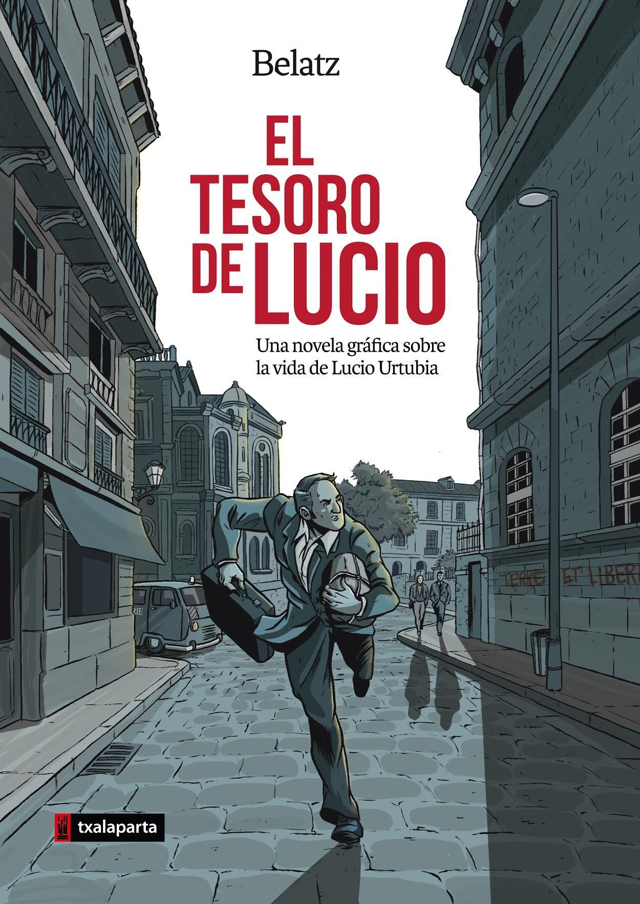 El tesoro de Lucio: Una novela gráfica sobre la vida de Lucio ...