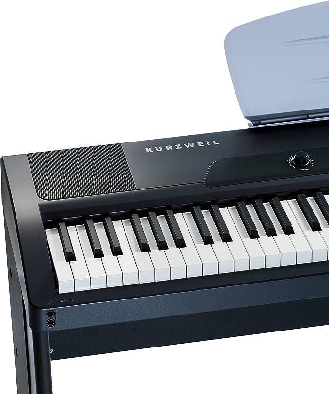 Kurzweil mps10 Piano portátil negro: Amazon.es: Instrumentos ...