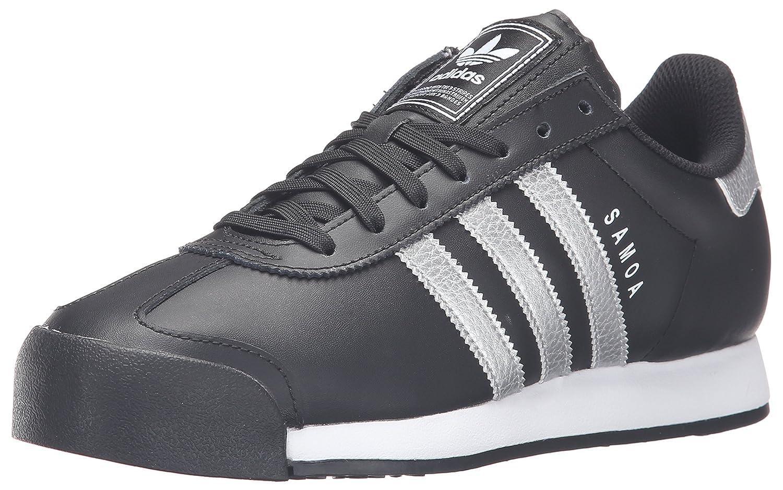 adidas Originals Men's Samoa Retro Sneaker B01HLL0HXA 11.5 D(M) US Black/Metallic/Silver/White
