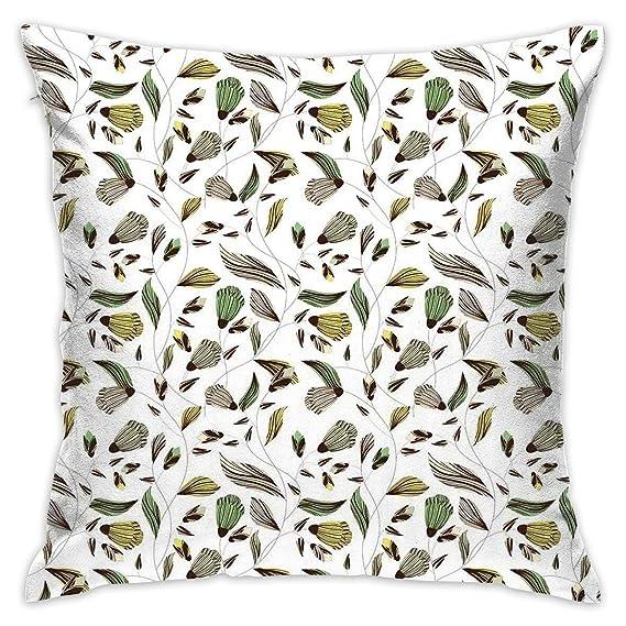 Amazon.com: Uanlic Fundas de almohada decorativas con ...