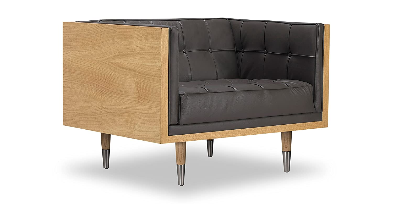 Amazon.com: kardiel Woodrow midcentury moderno Caja Silla ...