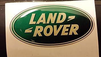 Land Rover in 3D con Stemma, Ideale per Interni ed Esterni: Amazon