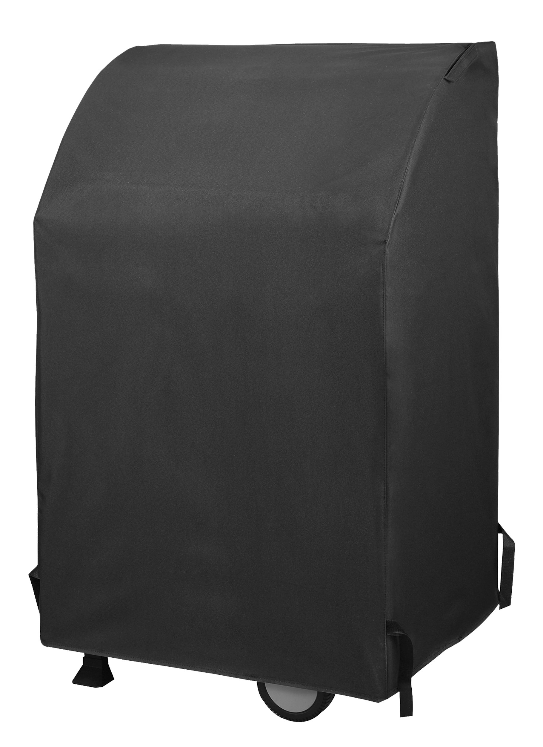 UNICOOK Heavy Duty Waterproof Two Burner Gas Grill Cover, 32-Inch Width BBQ Cover, Small Space Grill Cover, Fade Resistant, Fit Grills with Collapsed Side Tables for Weber Char-Broil and More