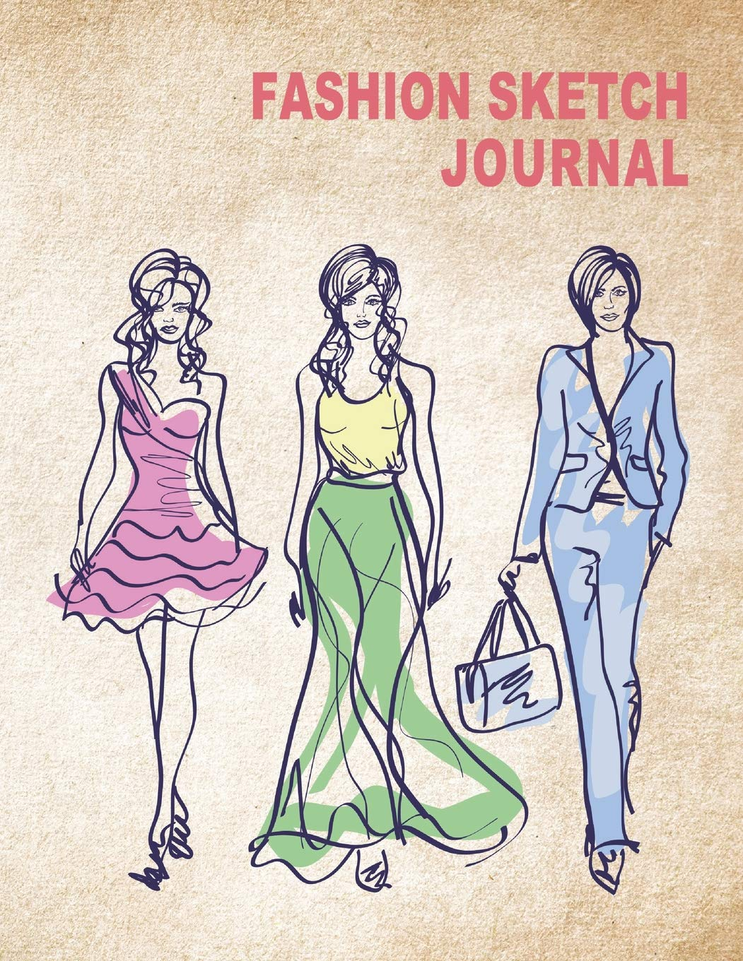 Amazon Com Fashion Sketch Journal Women Figure Sketch Different Posed Template Will Easily Create Your Fashion Styles Fashion Sketch 9781983001758 Ahrendts Angel Books