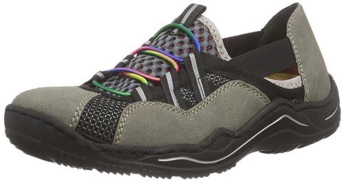 Rieker L0575 Women Low top Damen Sneaker: : Schuhe