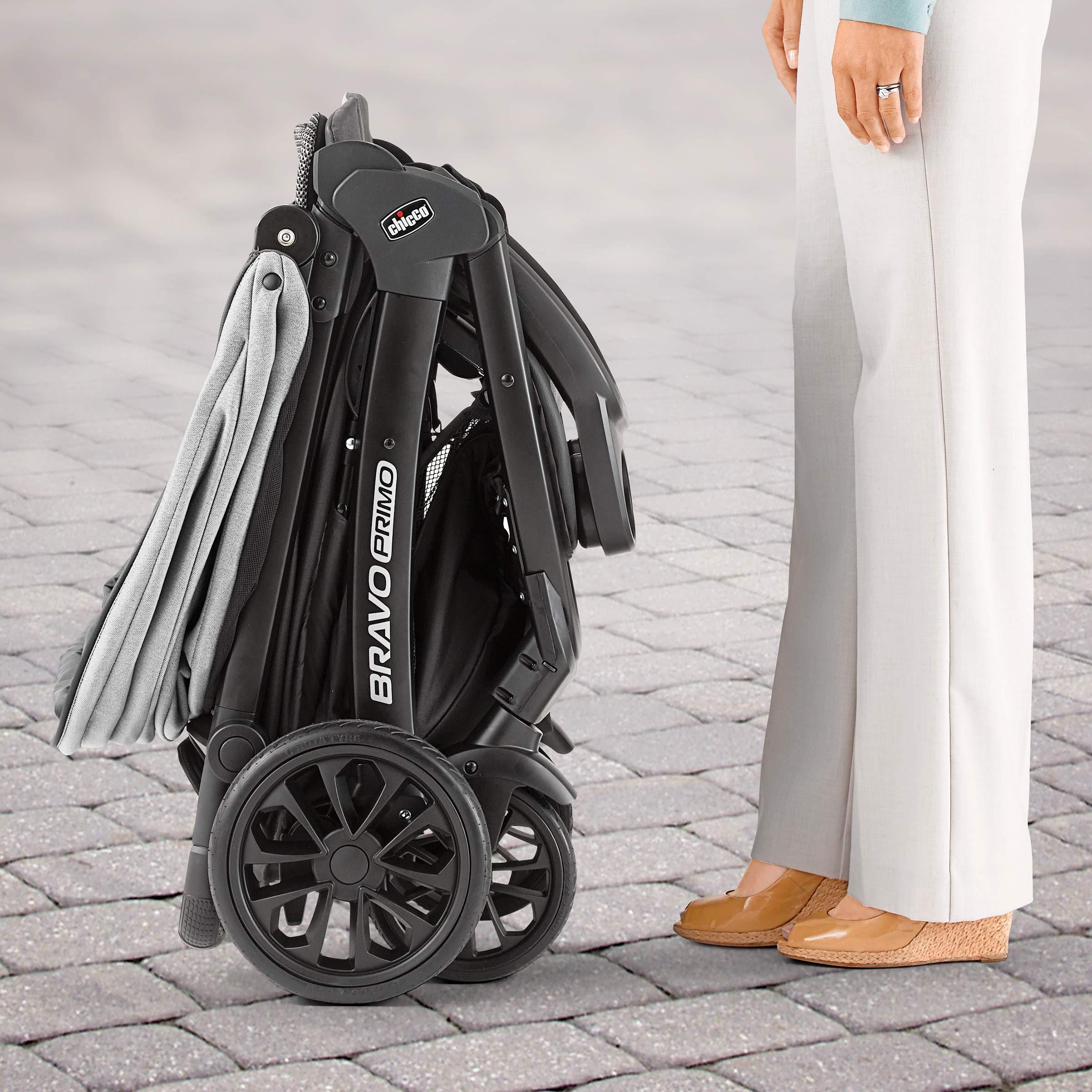 Chicco Bravo Primo Quick Fold Stroller Allegro Travel System