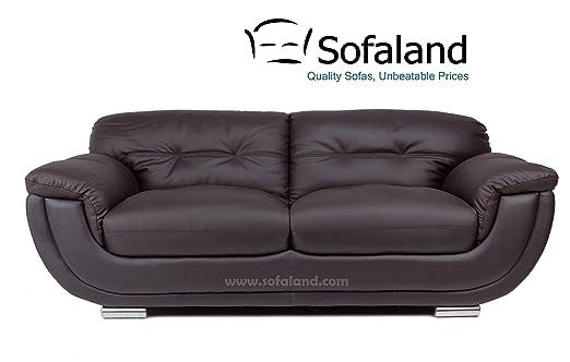 Zara 3 sofá - marrón: Amazon.es: Hogar