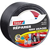Tesa 56494-00001-00 Réparer 1001 Usages - Cinta reparadora multiusos (recubierta de tejido, muy resistente 25 m x 50 mm)