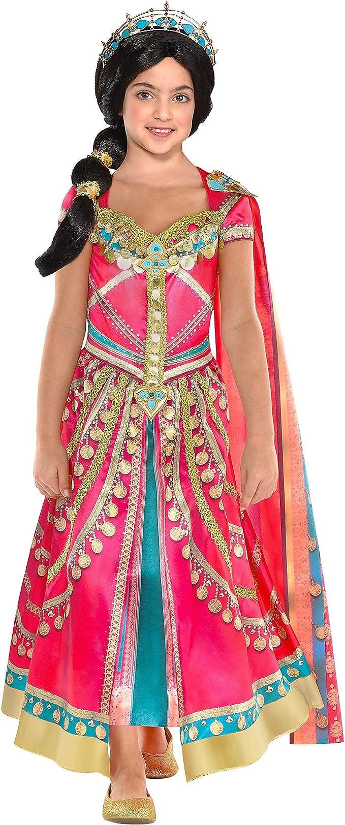 Amazon.com: Disfraz de jazmín rosa para niños, incluye un ...