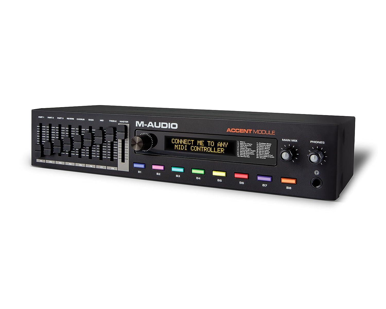 M-Audio Accent Module | USB MIDI Piano Sound Module inMusic Brands Inc.