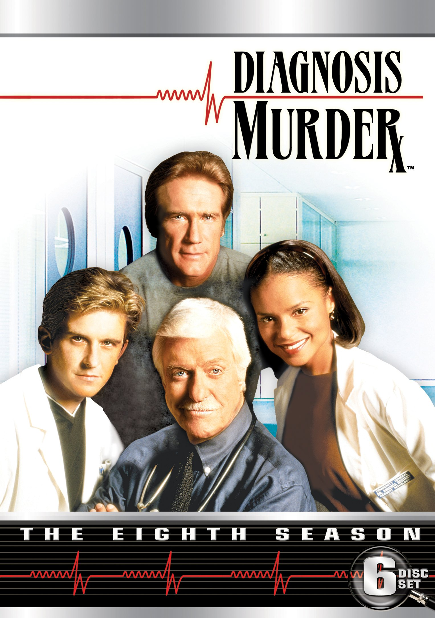 DVD : Diagnosis Murder: The Eighth Season (DVD)