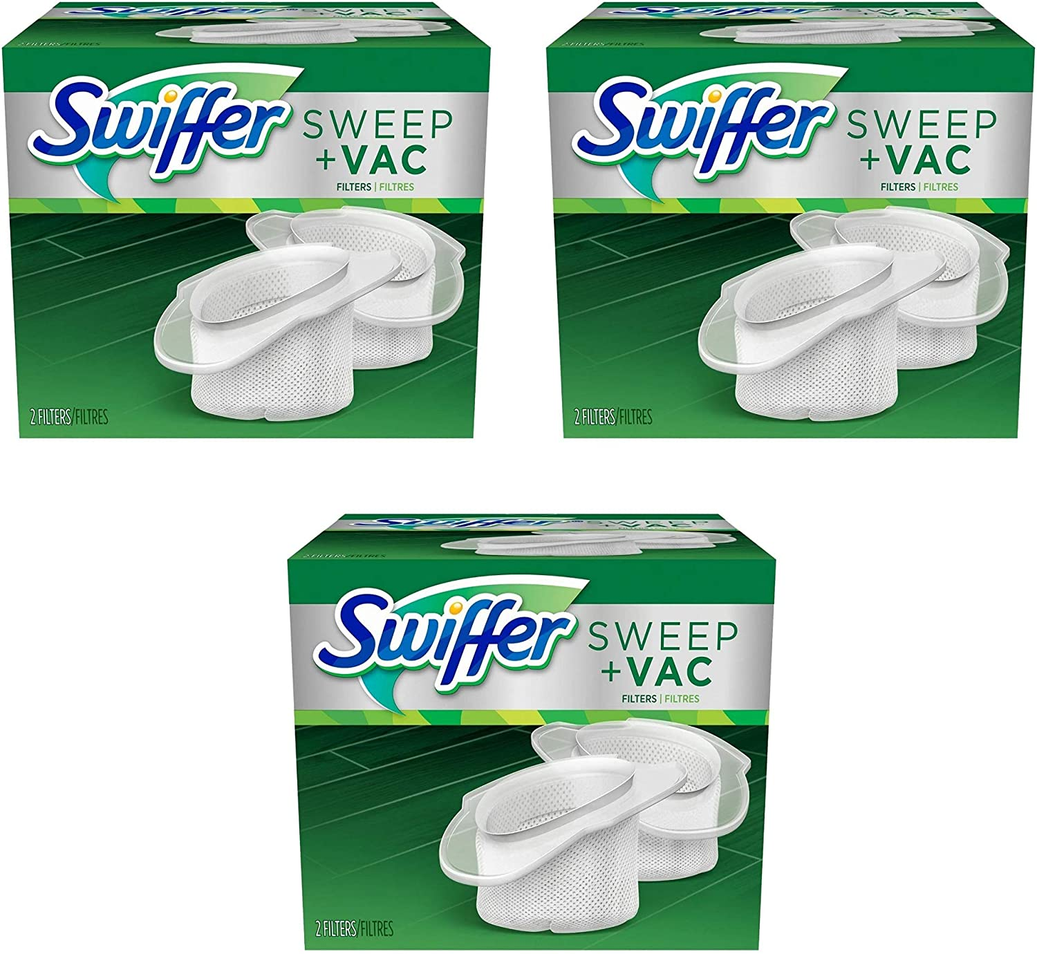 VAC FILTERS 4 filters 2 Boxes SWIFFER SWEEP