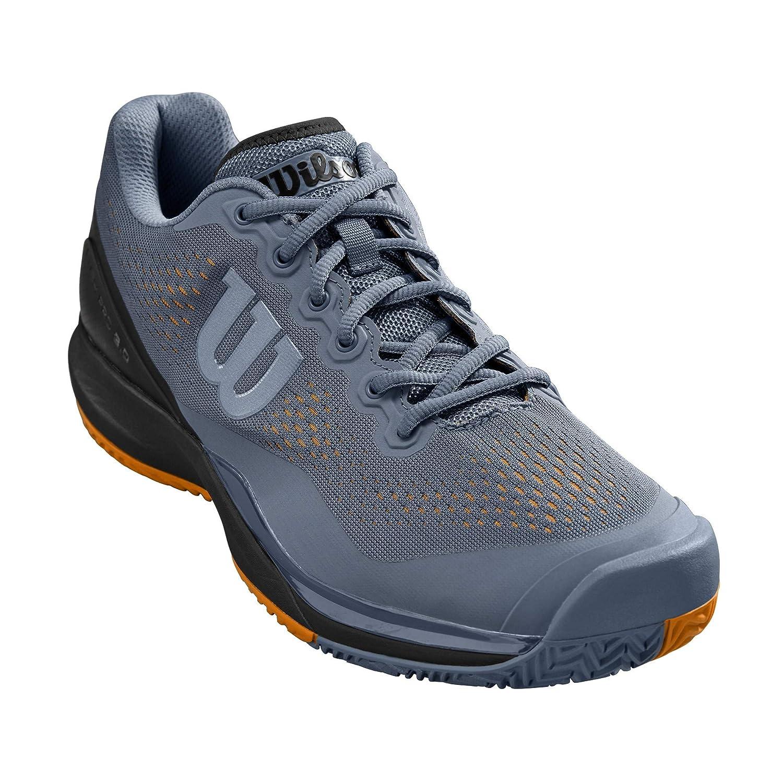 gris Noir Orange 42 2 3 EU WILSON Rush Pro 3.0, Chaussures de Tennis Homme