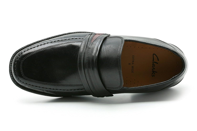 Clarks Mens 5051037734203 Aston Mind Black Leather 9.5: Amazon.co.uk: Shoes  \u0026 Bags