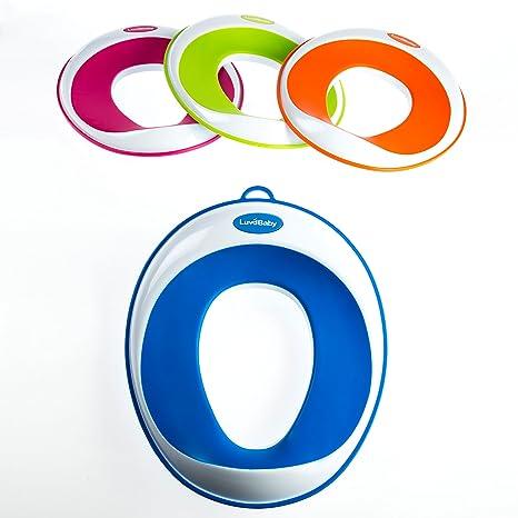 sichere rutschfeste Oberfl/äche Toiletten-Training-Sitz Kinder-Toiletten-Training-Klobrille f/ür Jungen und M/ädchen UMSONST mitgeliefert: Haken mit Saugnapf zur Aufbewahrung
