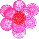 "Rangoli 12 "" Big Round Stencils , Set Of 10"