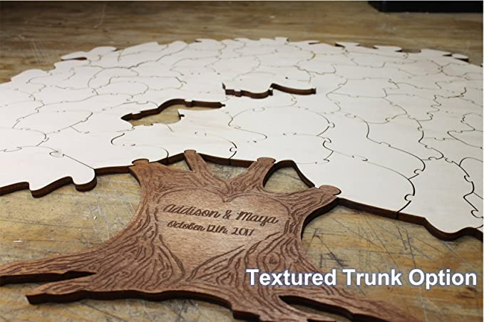 Amazon.com: Tree Puzzle Guest Book Alternative   Personalized ...