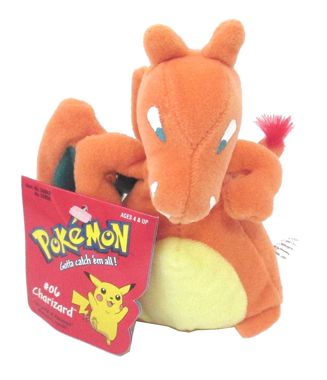 Pokemon Charizard Beanie plush Soft Toy 6 inch high