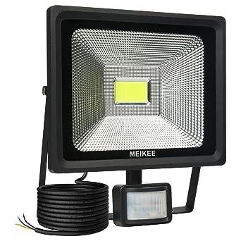 MEIKEE Projecteur LED avec détecteur de mouvement 50W 5000 LM
