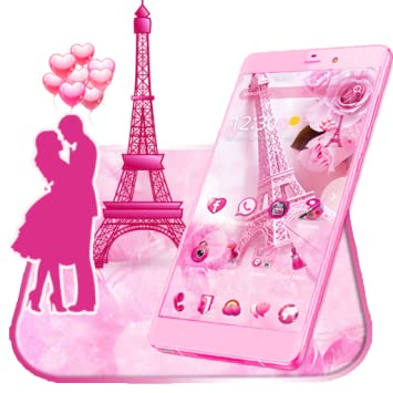 Amazon Com Pink Paris Love Theme Wallpaper Appstore For Android