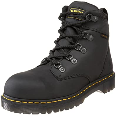 Dr. Martens Holkham Steel Toe Hiker,Black,10 UK/12 M US