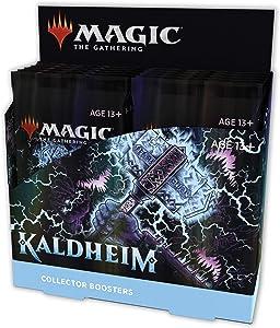 Magic The Gathering Kaldheim Collector Booster Box   12 Packs (180 Magic Cards)