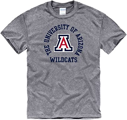 Campus Colors NCAA Adult MVP Heathered Logo Tshirt
