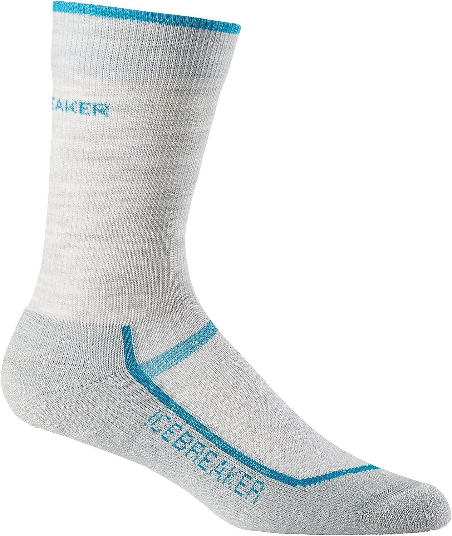 Icebreaker Merino Womens Running /& Multisport Light Cusion Crew Socks Merino Wool
